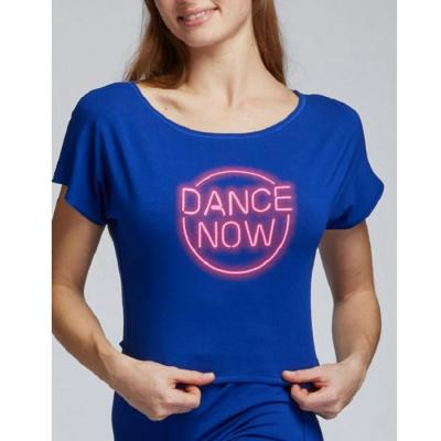 Tee-shirt TempsDanse Agile Néon indigo