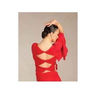 Haut flamenco Capezio DSA0002 rouge
