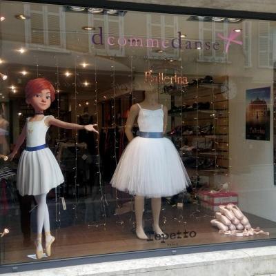 La Boutique 'd comme danse' à Chartres