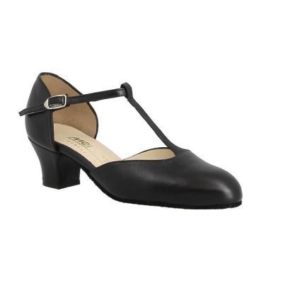 Chaussures femme Merlet Eva cuir noir