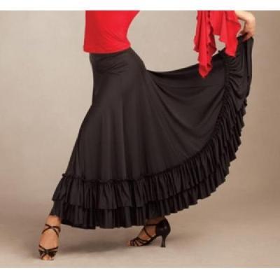 Jupe Flamenco Capezio FLM 101 noir