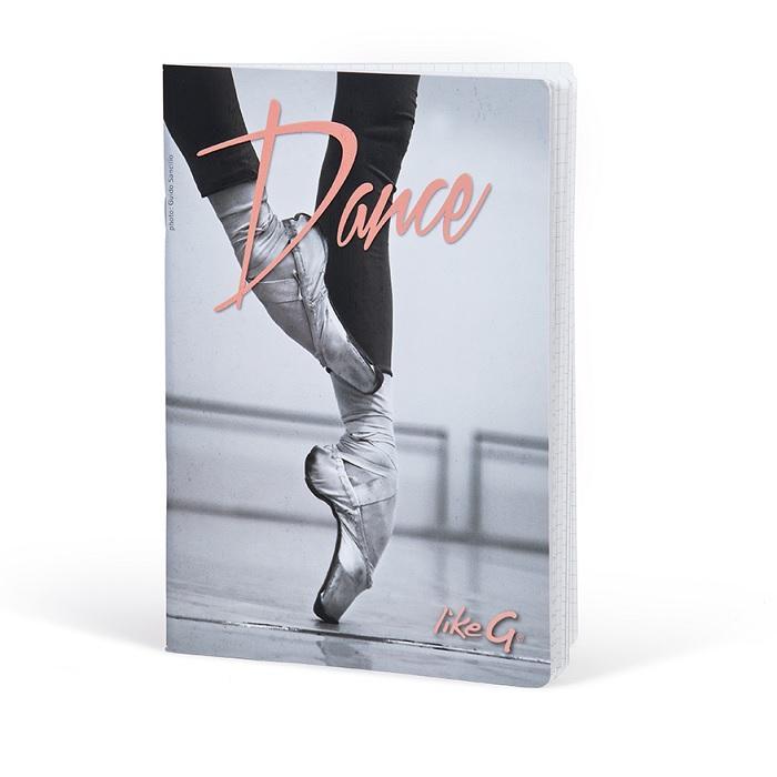Likeg cahier a5 pointes dance
