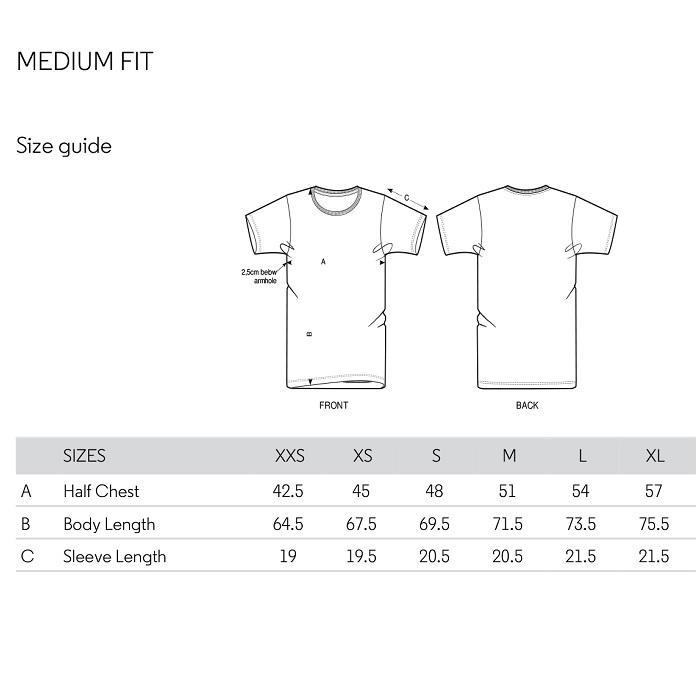 Likeg medium fit tee shirt love dance taille