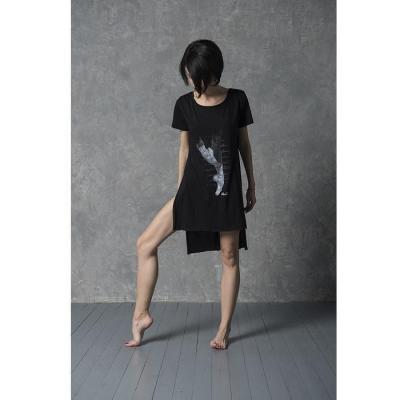 Tee-shirt LikeG Oversize Modal noir