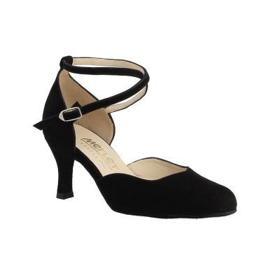 Chaussures femme Merlet Niagara velours noir