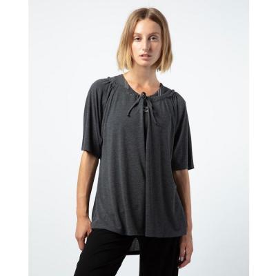 Tee-shirt Repetto R0281 gris chiné foncé