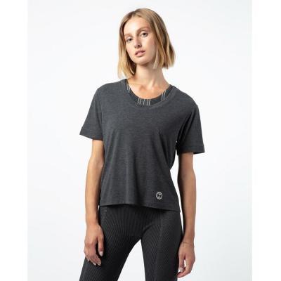 Tee-shirt Repetto R0282 gris chiné foncé