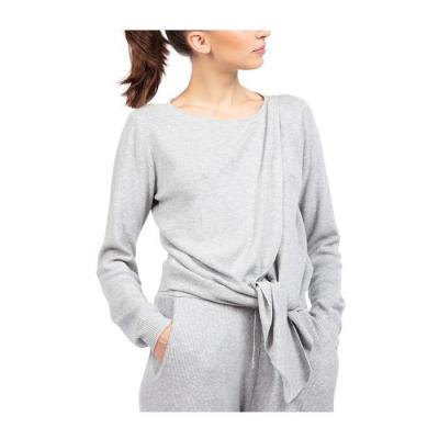 Cache-coeur tricot Repetto W0672 chiné gris clair