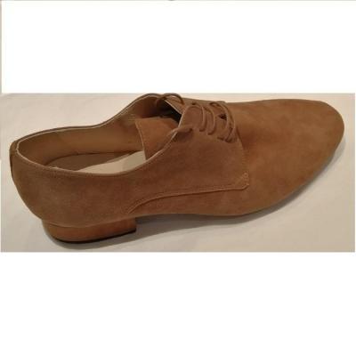 Chaussures homme Merlet Zéphir velours cognac
